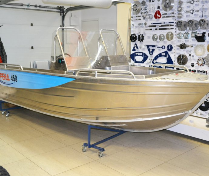 тюнинг алюминиевых лодок в спб