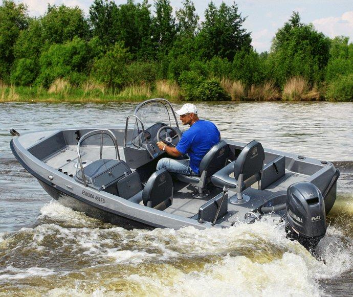 моторные лодки и катера рыбацкий