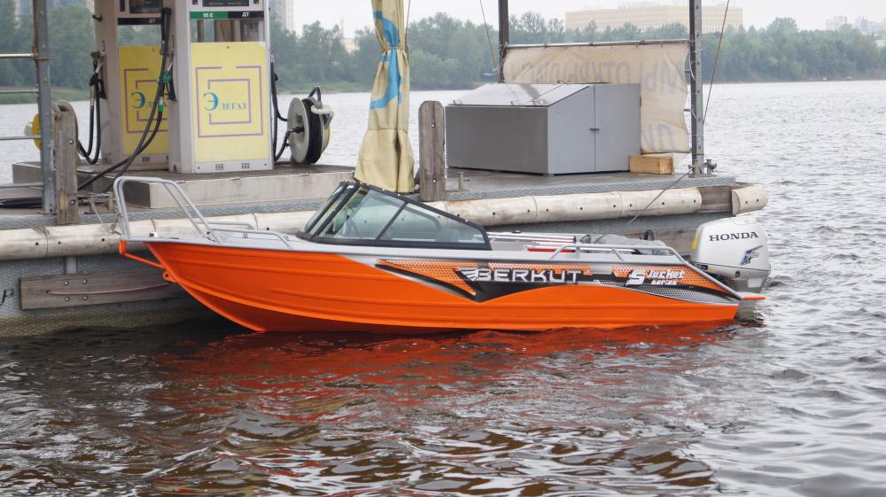 катера рыболовные новые