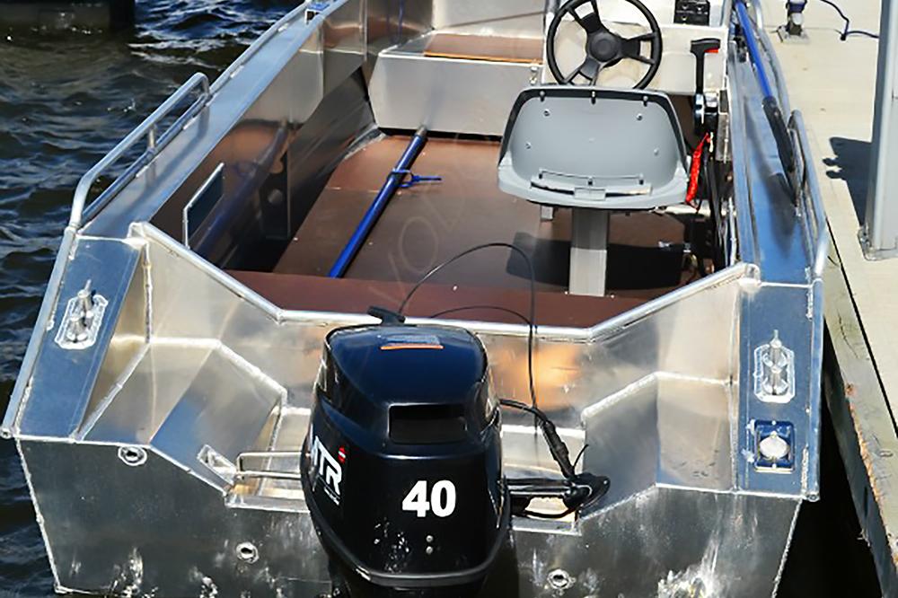 продажа бу алюминиевых лодок в москве